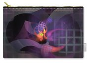 In The Year Of The Tiger - Fractal Art Carry-all Pouch