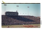 In This Vintage 1955 Photo The University Of Texas Longhorn Band Carry-all Pouch