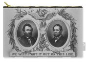 In Union Is Strength - Ulysses S. Grant And Schuyler Colfax Carry-all Pouch