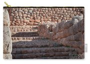 Inca Steps At Chinchero  Carry-all Pouch