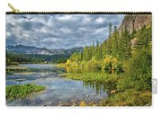 Incoming Storm At Twin Lakes Carry-all Pouch