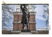Independence Hall And Commodore Barry Carry-all Pouch