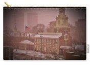 Independence Hall In The Snow Carry-all Pouch
