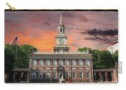 Independence Hall Philadelphia Sunset Carry-all Pouch