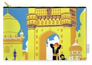 India, Castle, People, Street Carry-all Pouch
