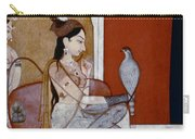India: Lady & Hawk, C1570 Carry-all Pouch