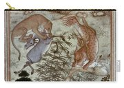 India: Mughal Art, 1604-11 Carry-all Pouch