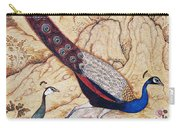 India: Peafowl, C1610 Carry-all Pouch