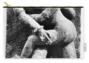 India: Sculpture Carry-all Pouch