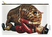 India: Tiger Attack Carry-all Pouch