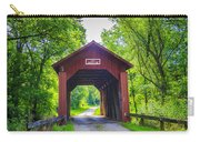 Indian Camp Covered Bridge Carry-all Pouch