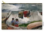 Indian Camp - Roberval P Q Carry-all Pouch