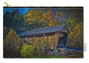 Indian Creek Covered Bridge In Fall Carry-all Pouch