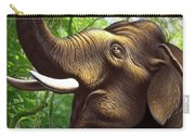 Indian Elephant 1 Carry-all Pouch