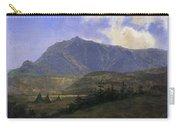Indian Encampment Albert Bierstadt Carry-all Pouch