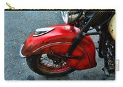 Indian Motorcycle Fender In Red Carry-all Pouch