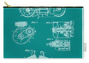 Indian Motorcycle Patent 1943 Green Carry-all Pouch