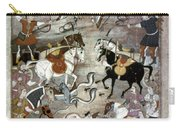 Indian Mughal Book Carry-all Pouch