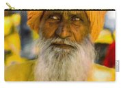Indian Old Man Carry-all Pouch