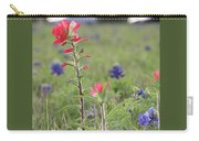 Indian Paintbrush Flower Carry-all Pouch