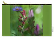 Indian Paintbrush With Beautiful Wildflower Bokeh Carry-all Pouch