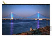 Indian River Inlet Bridge Twilight Carry-all Pouch