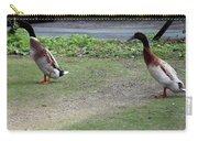 Indian Runner Ducks Carry-all Pouch