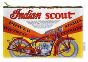 Indian Scout Carry-all Pouch
