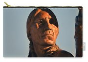 Indian Statue Carry-all Pouch