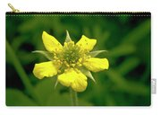 Indian Strawberry Flower Carry-all Pouch