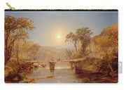 Indian Summer On The Delaware River Carry-all Pouch
