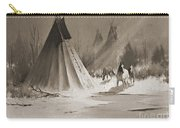 Indian Tee Pee Carry-all Pouch