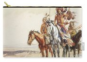 Indian War Party Carry-all Pouch