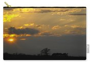 Indiana Farm Sunset 3 Carry-all Pouch