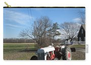Indiana Hwy 63 South Vintage Ford Tractor Color Version Carry-all Pouch