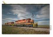 Indiana Southern Railroad Locomotives At Edwardsport Indina Carry-all Pouch