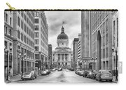 Indiana State Capitol Building Carry-all Pouch by Howard Salmon
