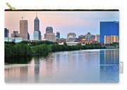Indianapolis At Dusk Carry-all Pouch
