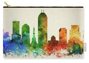 Indianapolis Skyline Panorama Usinin-pa03 Carry-all Pouch