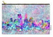 Indianapolis Skyline Watercolor 5 5 Carry-all Pouch