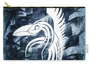 Indigo Bird Flight Contemporary Carry-all Pouch