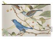 Indigo Bird Carry-all Pouch