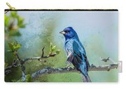 Indigo Bunting - Songbird  2 Carry-all Pouch