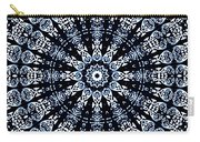 Indigo Flow Blue Kaleidoscope Carry-all Pouch