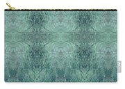 Indigo Lotus Lace Pattern 1 Carry-all Pouch