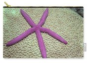 Indonesia, Pink Sea Star Carry-all Pouch