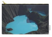 Indonesian Crater Lakes Carry-all Pouch