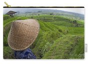 Indonesian Rice Farmer Carry-all Pouch