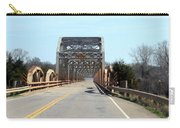 Industrial Bridge Over The Red River Carry-all Pouch