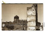Industrial Decay Sepia 1 Carry-all Pouch